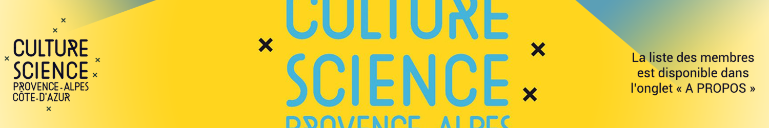 Full banniere reseau culture science jaune