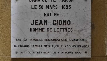Md jean giono s house in manosque